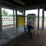 Warten in Vohwinkel Bahnhof