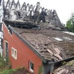 Abgebranntes Lokal oberhalb von St. Anna