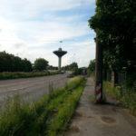 Der Wasserturm am Überflieger