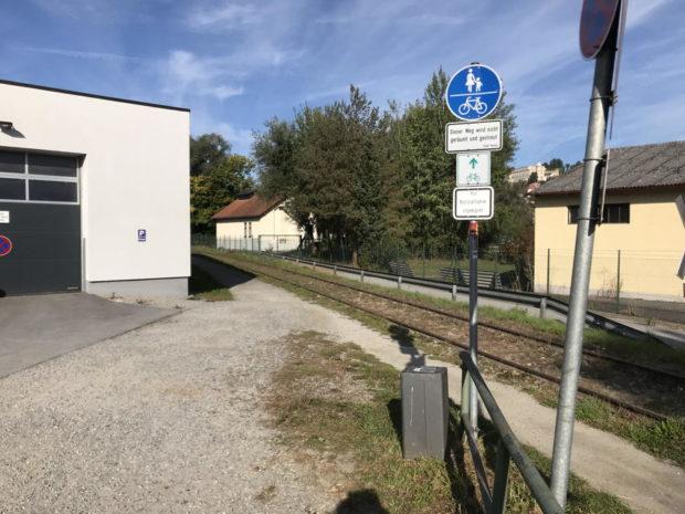 Südlicher Donauradweg