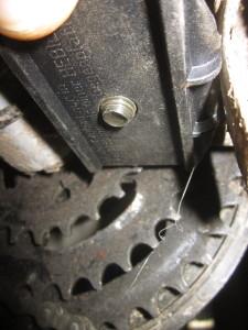 Adapterplatte hat eigene Dicke - M10-Schraube der Gegenplatte zu kurz