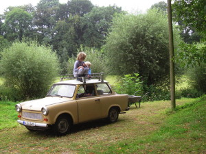 Sachsenring Trabant mit 65kg Dachlast