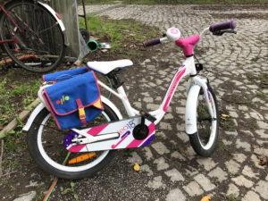 """Kinderad 18"""" mit Gepäcktaschen"""