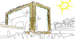 Investorenkubus am Döppersberg ist das goldene Kalb in der Version von Damien Hirst
