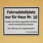 fahrradstellplatz_nur_fuer_haus_nr_16