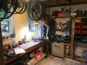 Private Fahrradwerkstatt