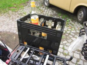 Getränkekasten-Gepäckträger-Aufsatz 'duo box boy'