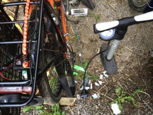 Aluminum-Flickenträgerfolie auf Erdboden