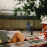hans-arnold-verspohl_in_seinem_solarmobil_1993