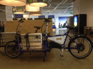 Lastenpedelecs bei IKEA Wuppertal