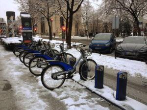 MVG-Fahrradverleihstation