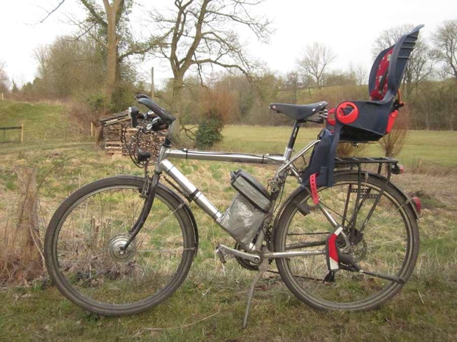 Fahrradsitz Ohne Gepäckträger