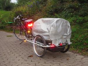 Fertiger Planwagen