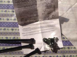 Anleitung für Fahrradkorb mit Kleinteilen