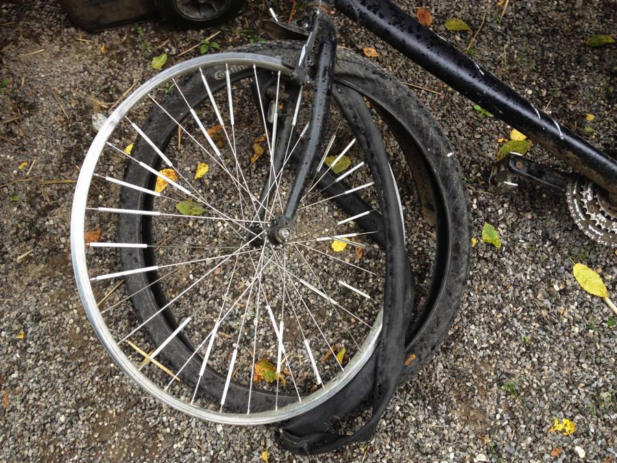 Schlauchflicken Ohne Rad Demontage Mit Dem Fahrrad Zur Arbeit