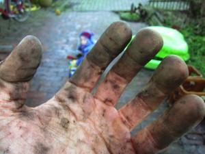 Solche Finger bleiben nicht aus