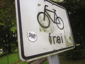 shit_fahrradfrei_schild_lavaterweg