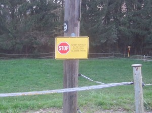 stop_zutritt_untersagt_schlehenweg_dornap