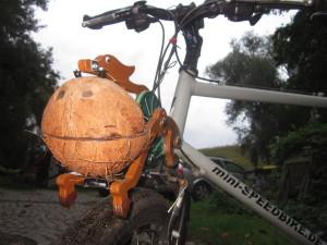 Trotify an meinem mini-speedbike