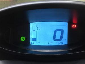 Cockpit-Display mit Werten