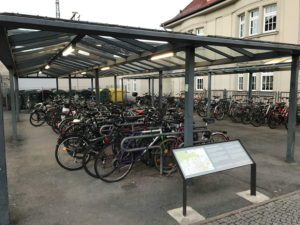 Fahrradständer in Weimar