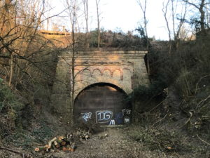 Westliches Tunnelportal Tunnel Tesch